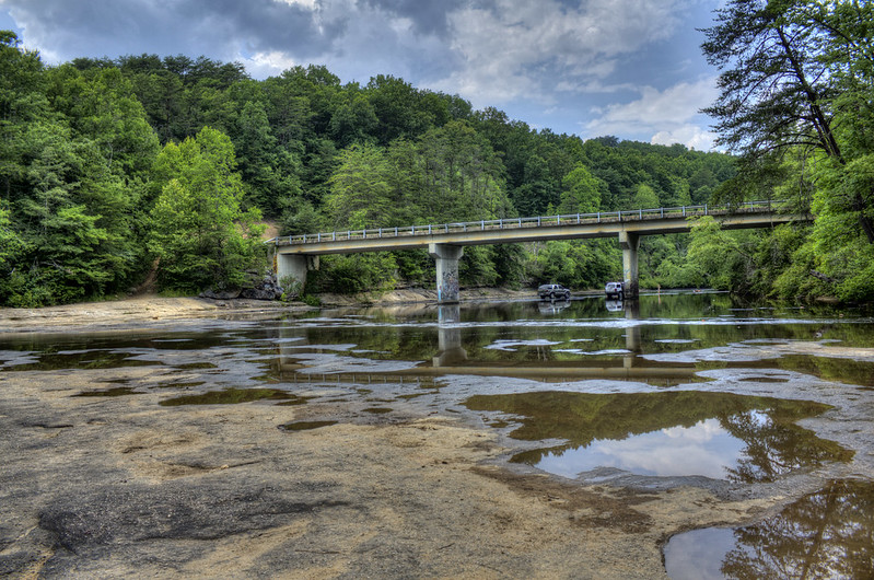 Clifty Bridge, Caney Fork River, Cumberland Co, TN