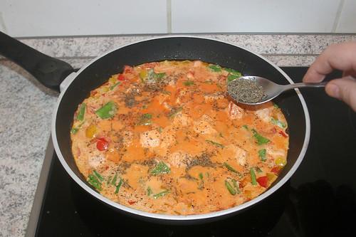39 - Mit Salz, Pfeffer & Thymian abschmecken / Taste with salt, pepper & thyme