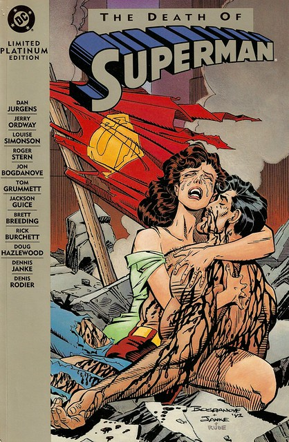 cover Death of Superman