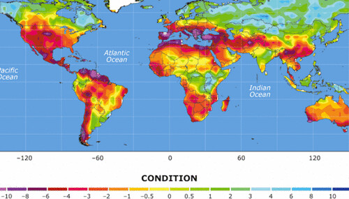 The World, Drought and Climate, 2050 | by JoeInSouthernCA