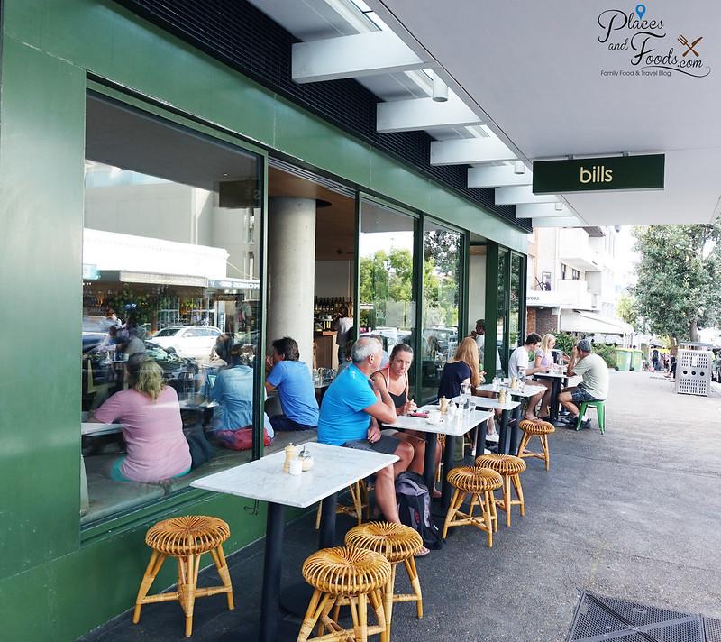 bills sydney cafe