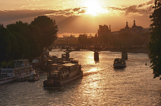 "Paris, view from ""Le Pont Neuf"" 