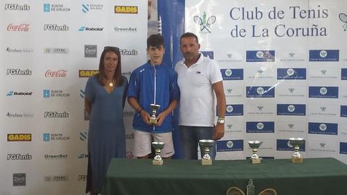 5ª Prueba del Circuito Gallego Juvenil de Tenis Babolat - Teresa Herrera 2016