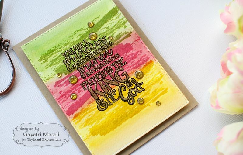 Spiritual card angled