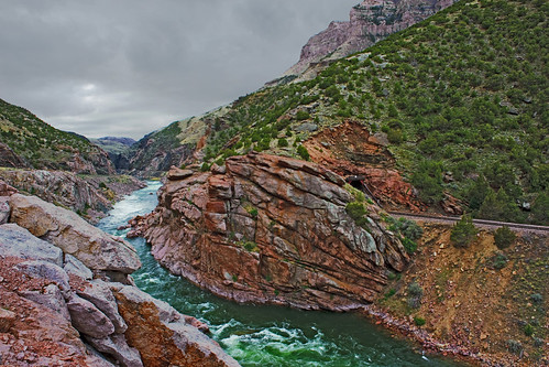 Wind River Canyon | by bhophotos
