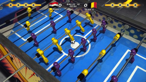 Foosball 2012 on PSN | by PlayStation.Blog