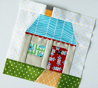 paper pieced house | by Retro_Mama