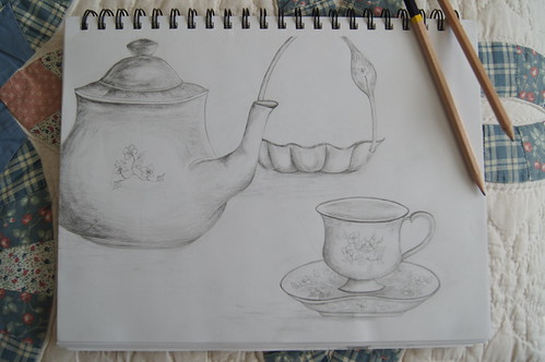Teapot and teacup | by Victoryisalways