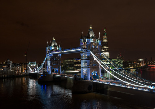 Tower Bridge Relighting | by @andymatthews