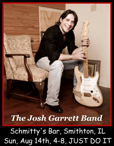 The Josh Garrett Band 8-14-16