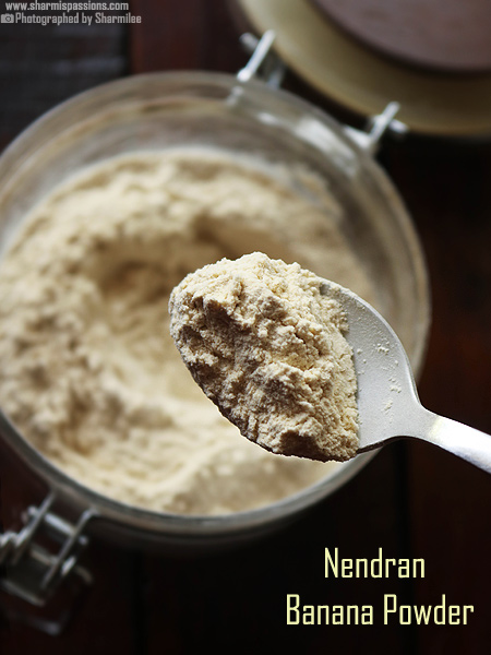 Nendran Banana Powder Recipe