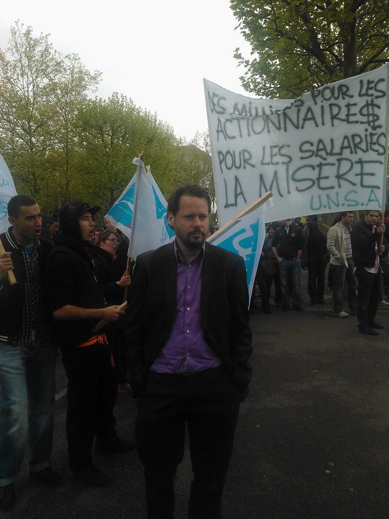 Présence au rassemblement Mcdo à Guyancourt (3)