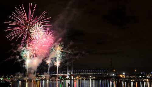Docklands - 20/7/12 - Fireworks - Intro with a Bang | by wolfcat_aus