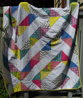 Geometric Quilt | by Dacia Ray