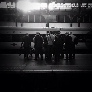 Train scrum. | by antony_mayfield