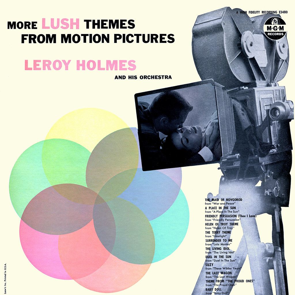 Leroy Holmes - More Lush Themes From Motion Pictures