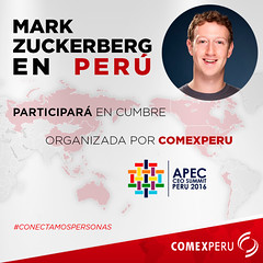 Mark Zuckerberg en Perú