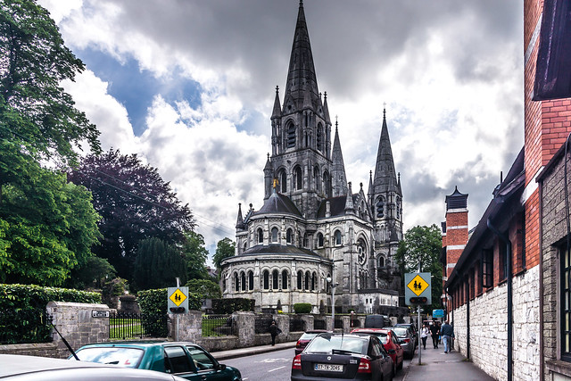 St. Fin Barre's Cathedral is the premier public building in Cork