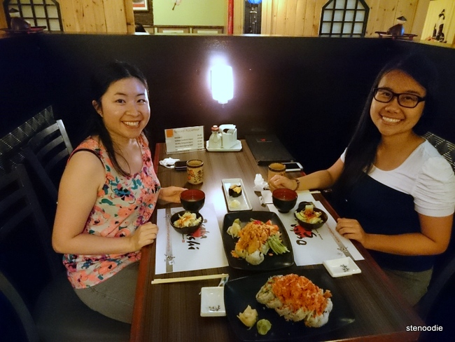 Dining at Osaka Sushi Japanese Restaurant