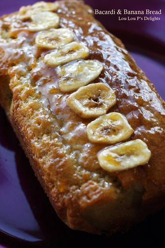 Bacardi & Banana Bread | by miss insomnia tulip