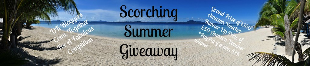 Georgina Ingham | Culinary Travels UK Bloggers Scorching Summer Giveaway Banner