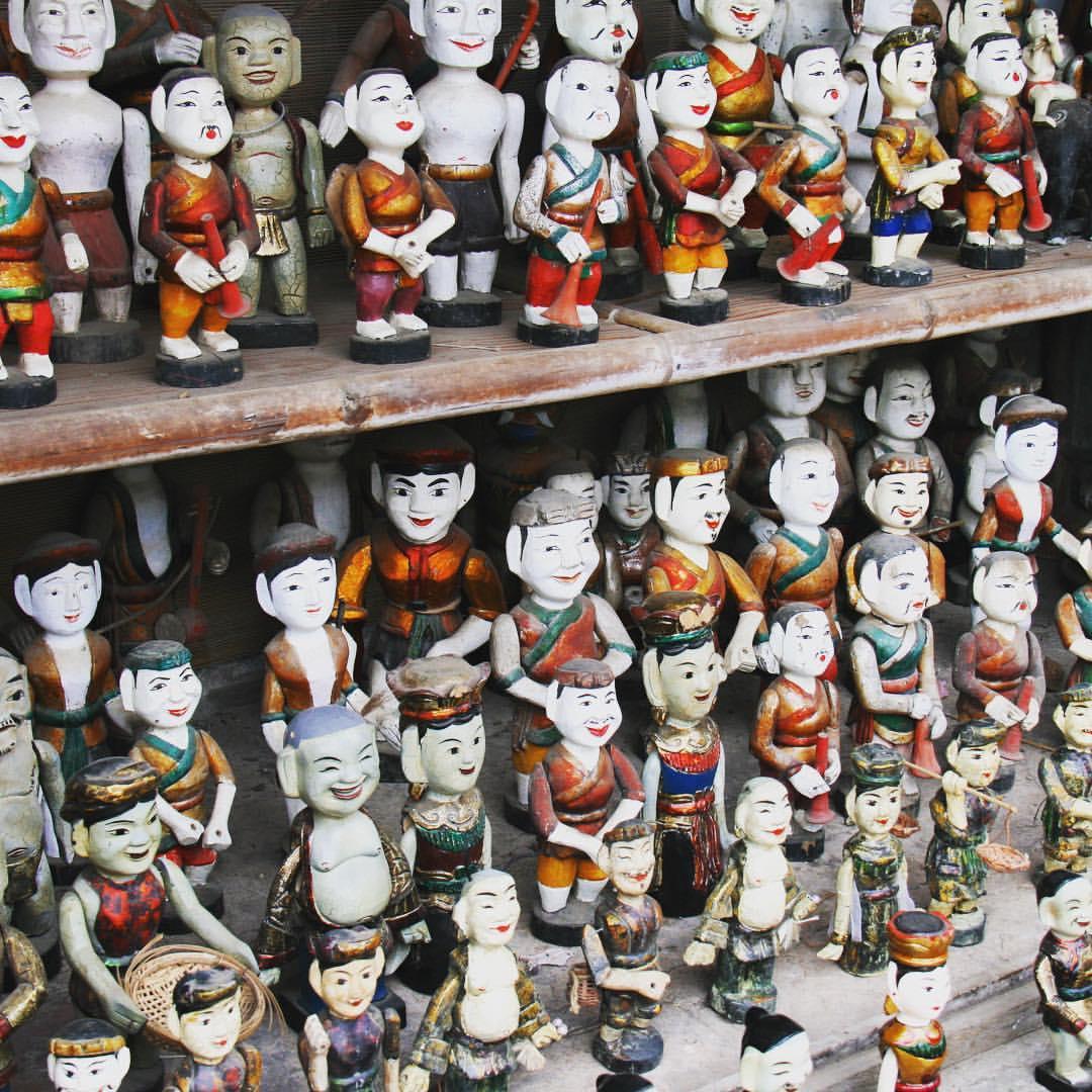 #rtw2012 #42 Vietnamese water puppets at the Temple of Literature in Hanoi. #rtw #rtw365 #aroundtheworld #oneyeartrip #maailmanympärimatka #travelmemories #vietnam #hanoi #templeofliterature #confucius #waterpuppets #travelblog #couplestravel #couplesthat