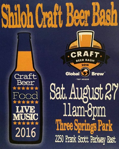 Craft Beer Bash 8-27-16