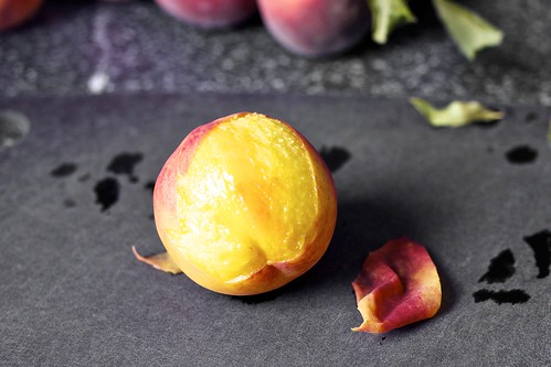 slipping the peach skins off | by smitten kitchen