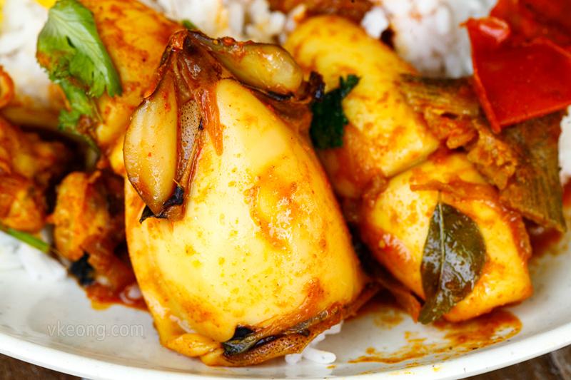 Curry Sotong Hameediyah Nasi Kandar