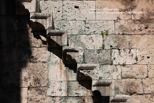 Amaysa, Gök Medrese Camii, stairs in the wall | by blauepics