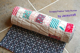 Scrappy Festive Table Runner