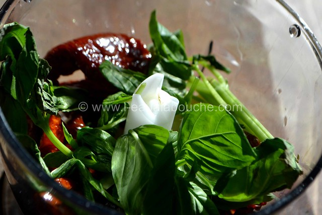 Condiment à l'Ail et  aux Tomates Séchées © Ana Luthi Tous droits réservés 002