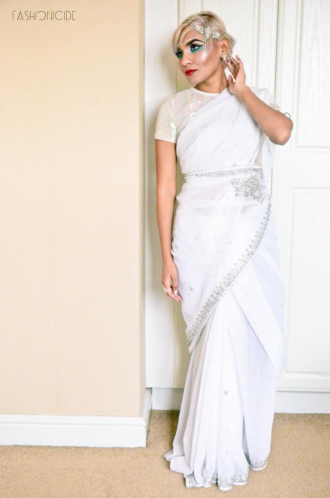 White Silver Sari Eid 2_