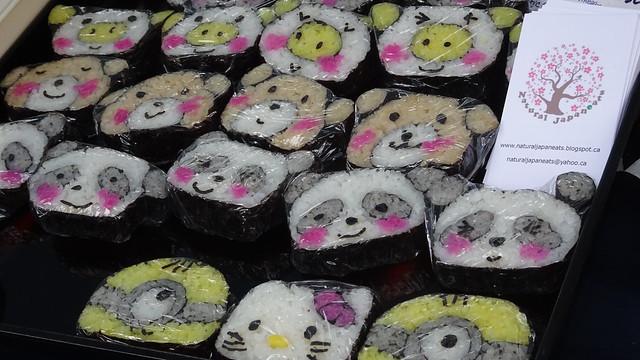 Sushi Faces