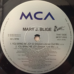 MARY J. BLIGE:I'M GOING DOWN(LABEL SIDE-B)