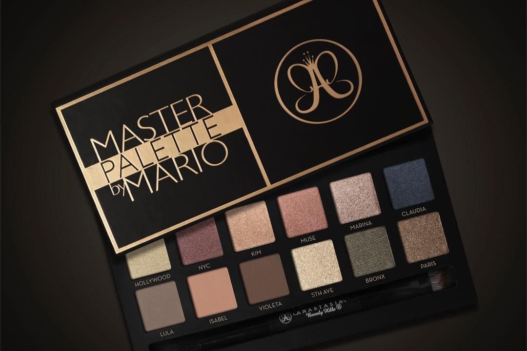 Anastasia Beverly Hills Master Palette by Mario Swatches