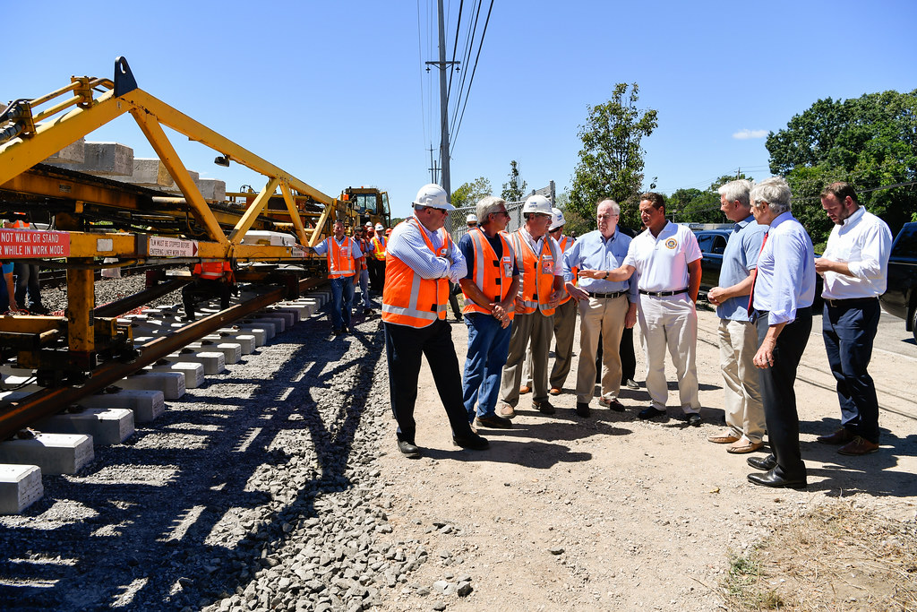 Governor Cuomo Announces Completion of New Track Laying for LIRR Double Track