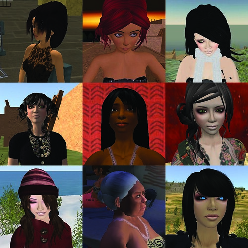 Avatar Progression, 2006 - 2012 | by Dr._Colleen_Morgan