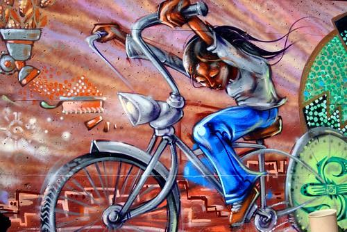 Bike Shack Mural