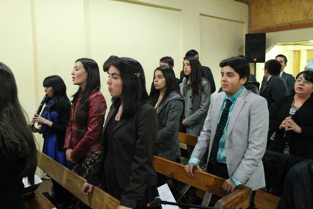 Juventud IMPCH Hualqui visita a la IMPCH de Dichato