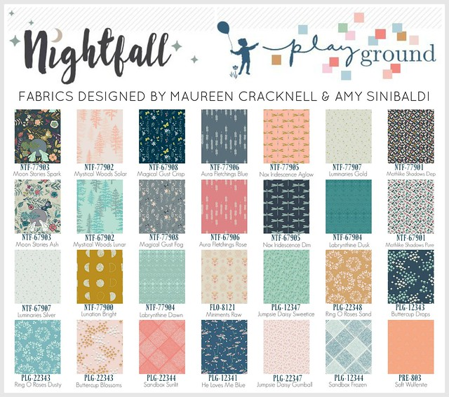 Reverie Quilt:  Nightfall & Playground