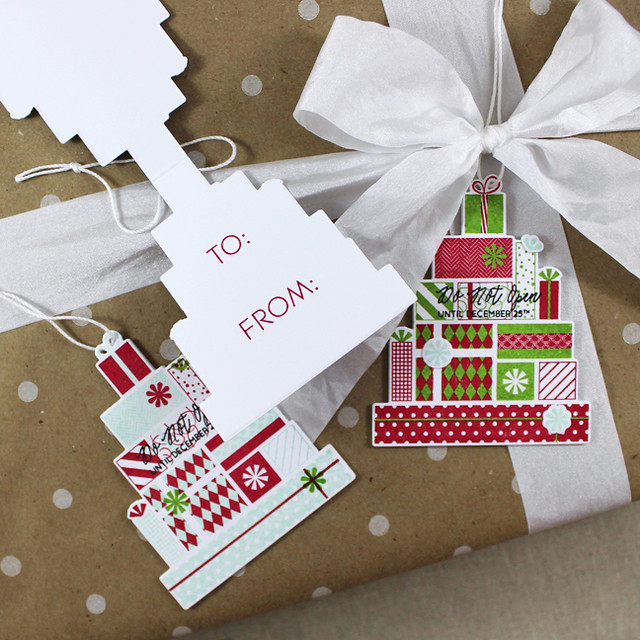 Christmas Packages Tags Open