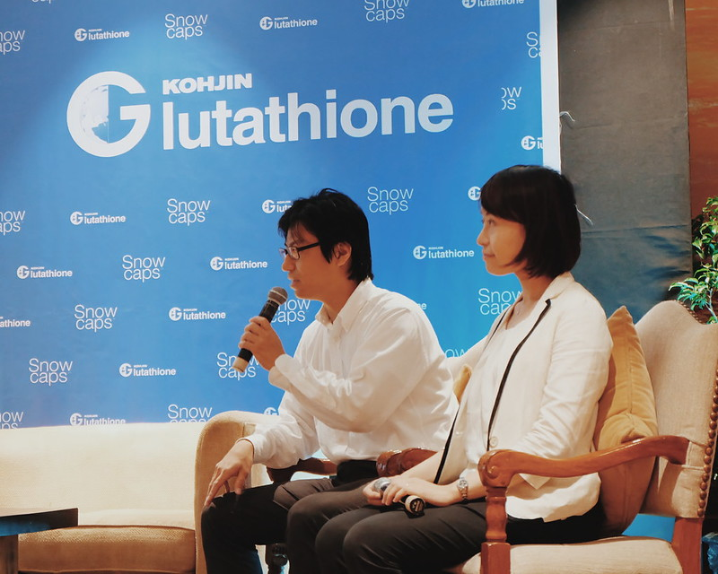 Mr. Yusuke Sauchi & Ms. Hitomi from Kohjin Life Sciences
