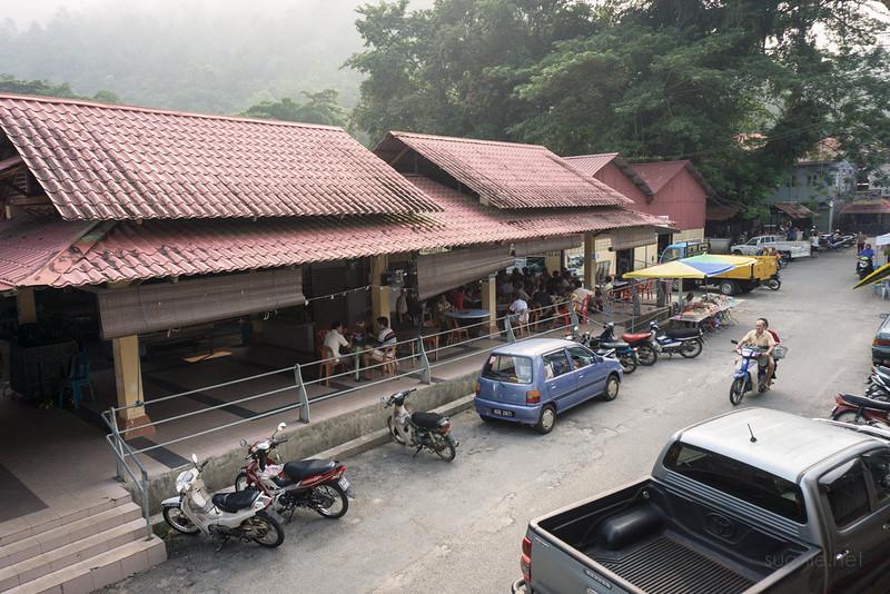 Sungai Lembing, Pahang - market