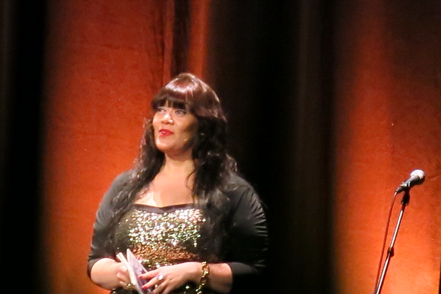 Tusiata Avia at WORD Christchurch The stars are on fire gala