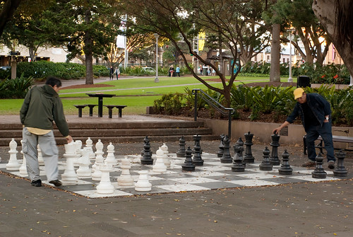 Chess at Hyde Park | by Kokkai Ng