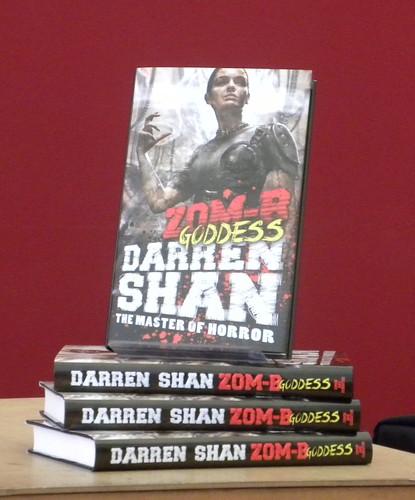 Darren Shan, Zom-B Goddess
