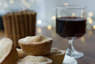 Mulled wine and mince pies © Lia Vittone/ROH 2012 | by Royal Opera House Covent Garden