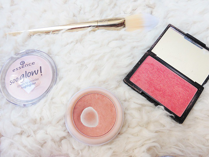 Essence, Sleek, and Natural Collection Blushers