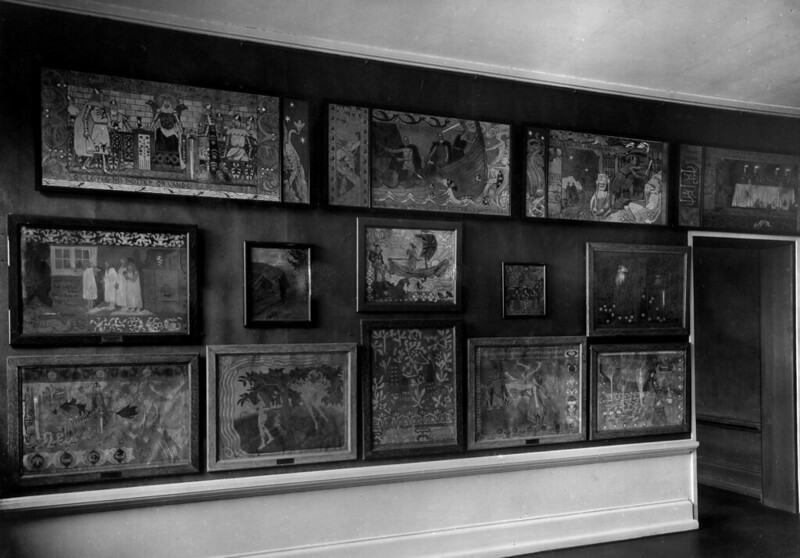 Gerhard Munthe - Wall of Artworks
